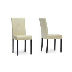 Baxton Studio Curtis Modern Dining Chair (Set of 2)