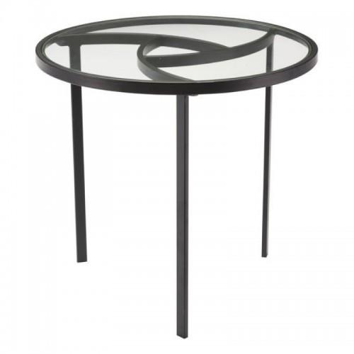 Asterisk End Table Black