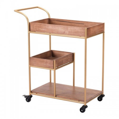 Bar Cart With Tray