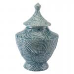 Escalera Lg Covered Jar Mint