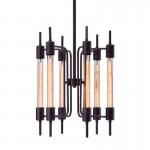Gisborne Ceiling Lamp Distressed Black