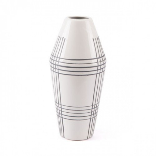 Ona Vase White & Black
