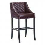 Santa Ana Bar Chair Brown
