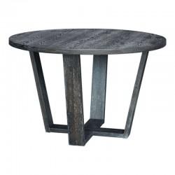 Skyline Round Dining Table Gray